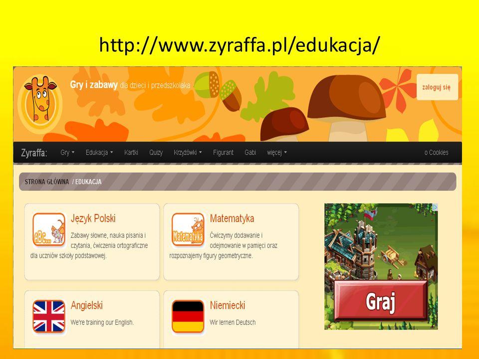 http://www.zyraffa.pl/edukacja/