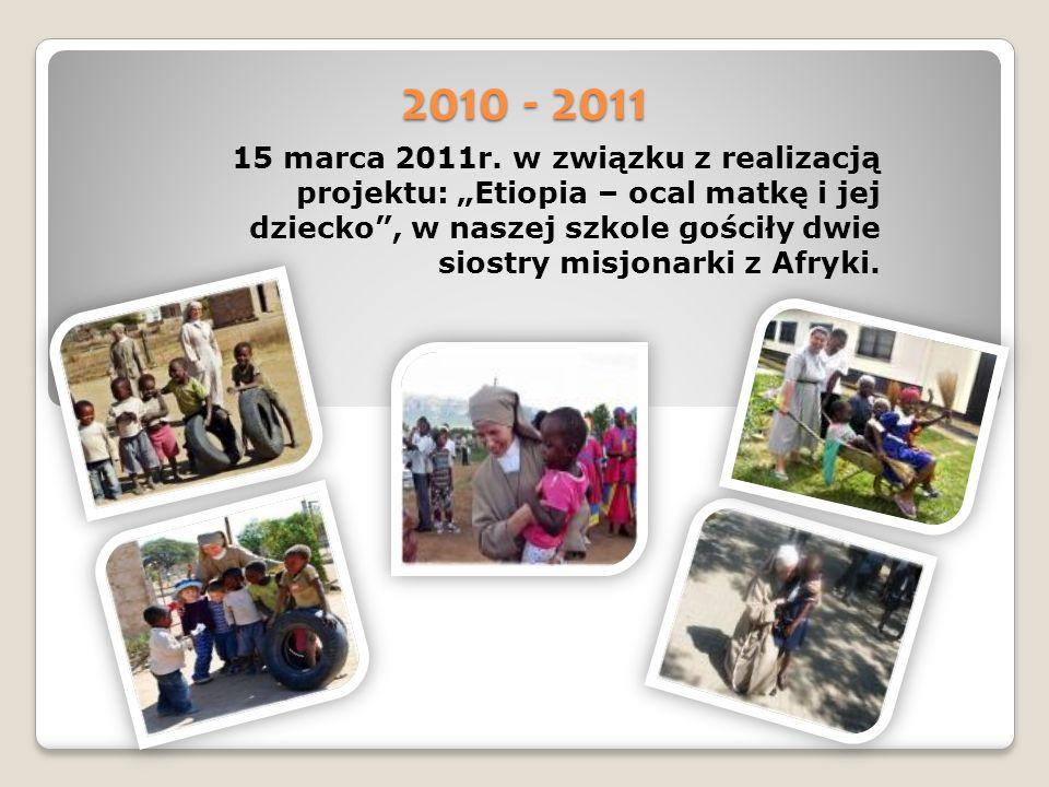 2010 - 2011 15 marca 2011r.