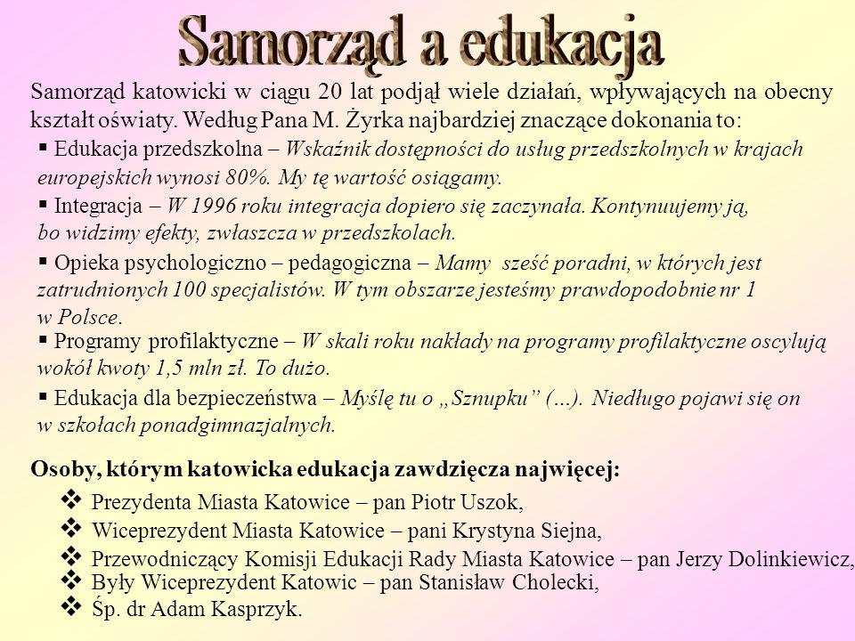 Konsekwencją przemian, które towarzyszyły Polsce przez ostatnich 20 lat, była reorganizacja sieci szkół, szczególnie w 1999 roku, kiedy powstały gimna