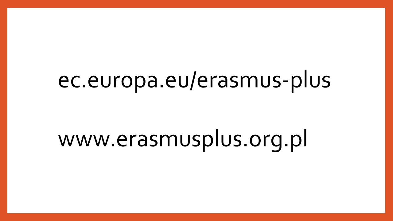 ec.europa.eu/erasmus-plus www.erasmusplus.org.pl