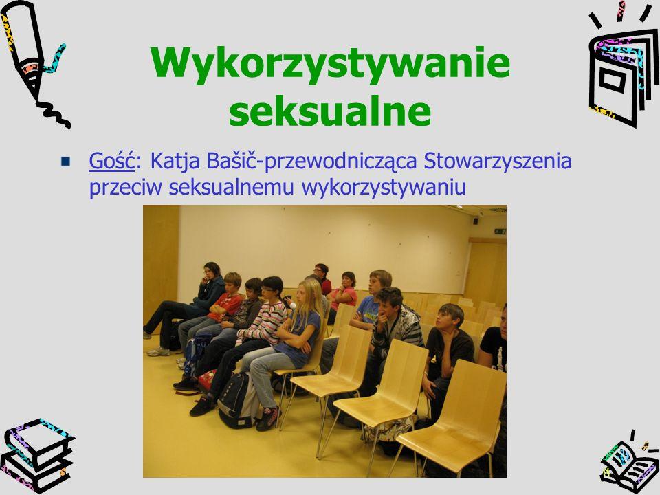 Wykorzystywanie seksualne Gość: Katja Bašič-przewodnicząca Stowarzyszenia przeciw seksualnemu wykorzystywaniu
