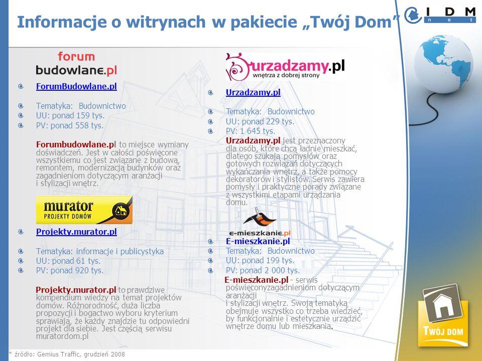 ForumBudowlane.pl Tematyka: Budownictwo UU: ponad 159 tys. PV: ponad 558 tys. Forumbudowlane.pl to miejsce wymiany doświadczeń. Jest w całości poświęc