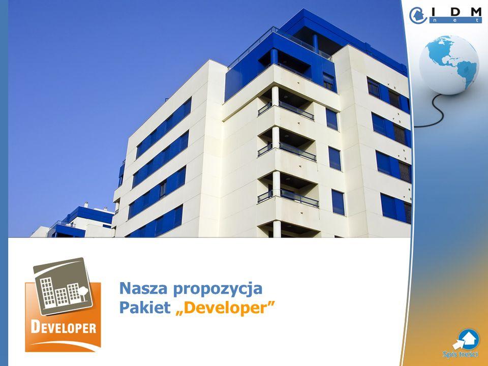 Nasza propozycja Pakiet Developer