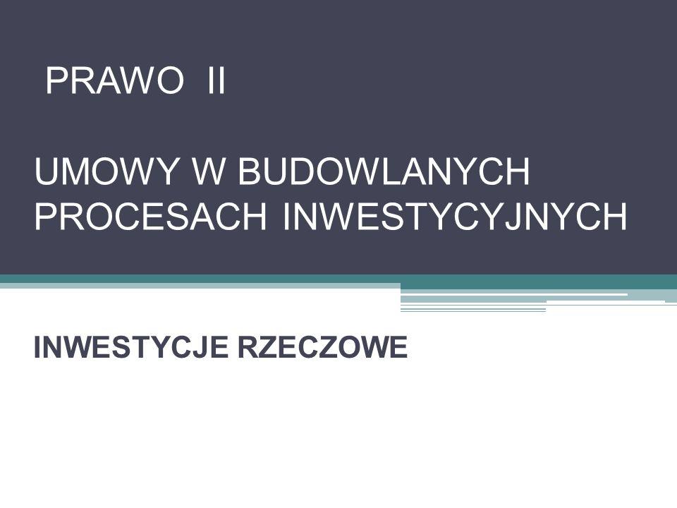 UMOWA DEVELOPERSKA Ustawa o własności lokali z dnia 24 czerwca 1994 r.