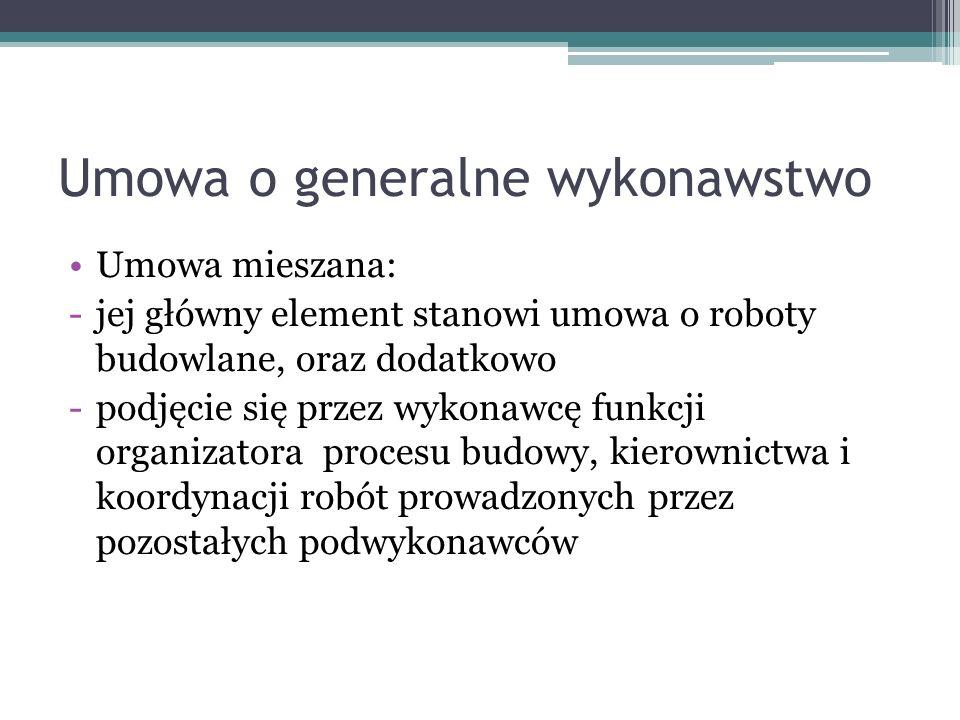 UMOWA O ROBOTY BUDOWLANE wg.kodeksu cywilnego Umowa o roboty budowlane k.c.