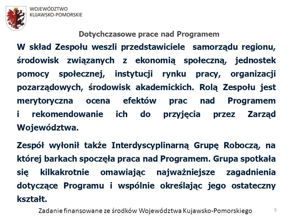 Zadanie finansowane ze środków Województwa Kujawsko-Pomorskiego 4.1.