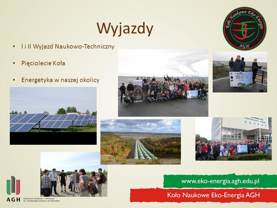 Wyjazdy I i II Wyjazd Naukowo-Techniczny Pięciolecie Koła Energetyka w naszej okolicy