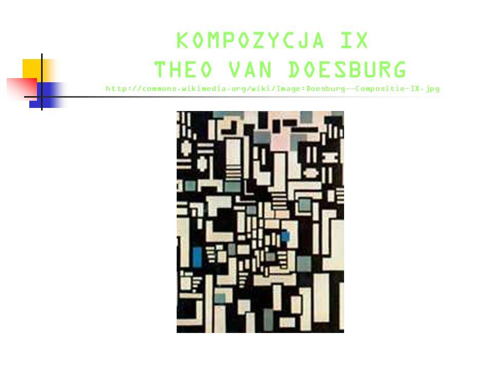 KOMPOZYCJA IX THEO VAN DOESBURG http://commons.wikimedia.org/wiki/Image:Doesburg--Compositie-IX.jpg