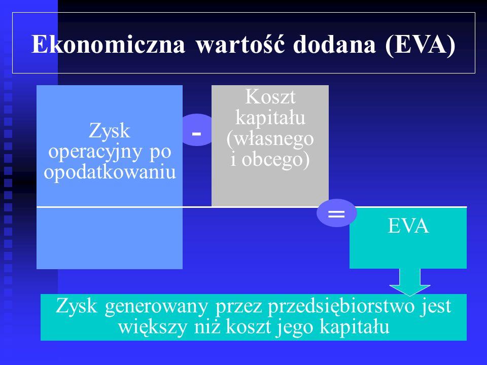 Ośrodki odpowiedzialności Miary dokonań finansowych centrum inwestycji zysk rezydualny = wynik finansowy – (wymagana stopa zwrotu * aktywa operacyjne) EVA = wynik operacyjny po opodatkowaniu – koszt kapitału 4 5