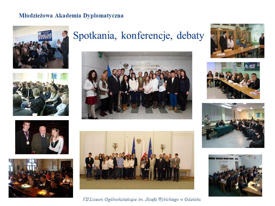 Spotkania, konferencje, debaty VII Liceum Ogólnokształcące im.
