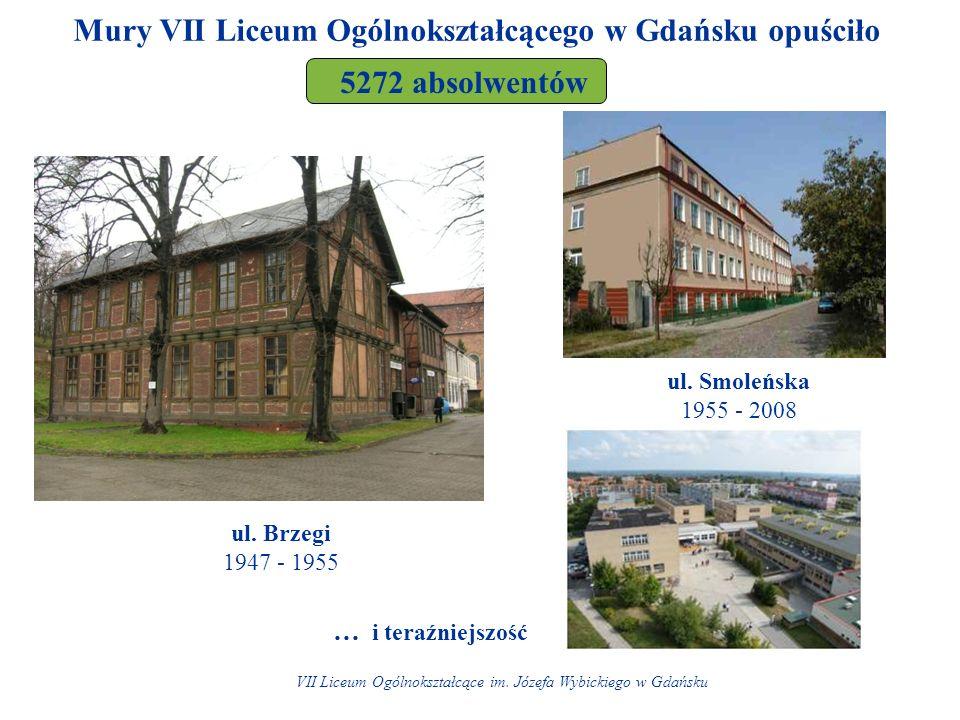 Mury VII Liceum Ogólnokształcącego w Gdańsku opuściło ul.