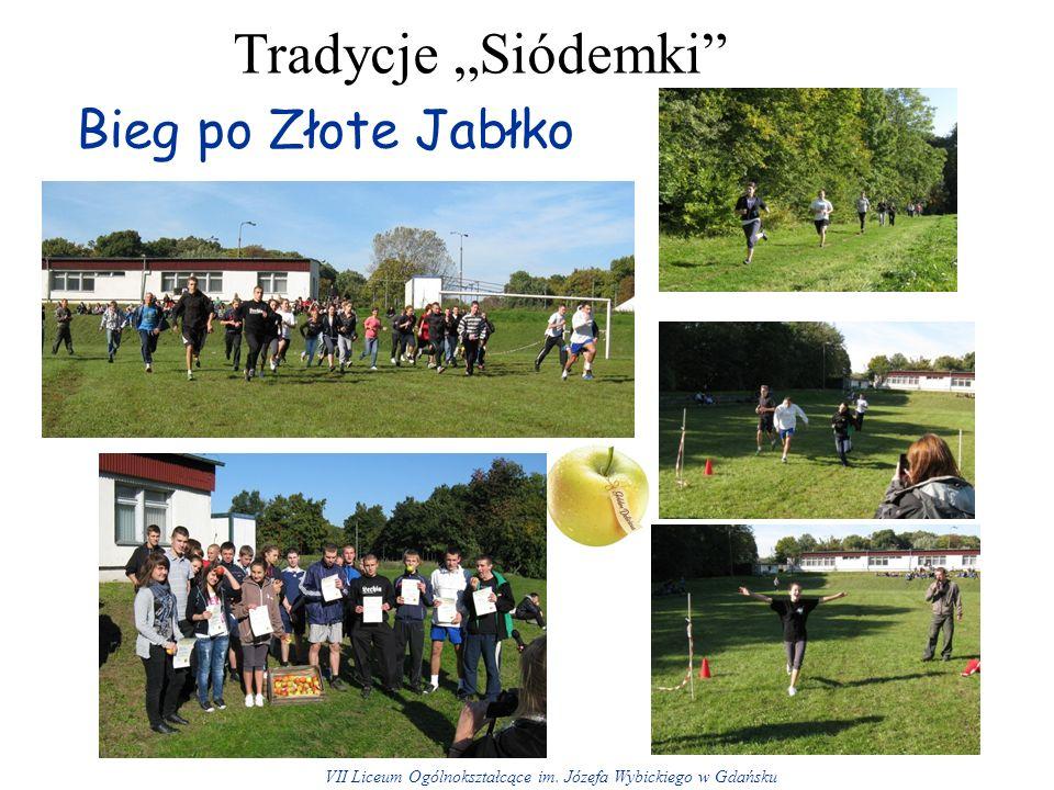 Bieg po Złote Jabłko Tradycje Siódemki VII Liceum Ogólnokształcące im. Józefa Wybickiego w Gdańsku