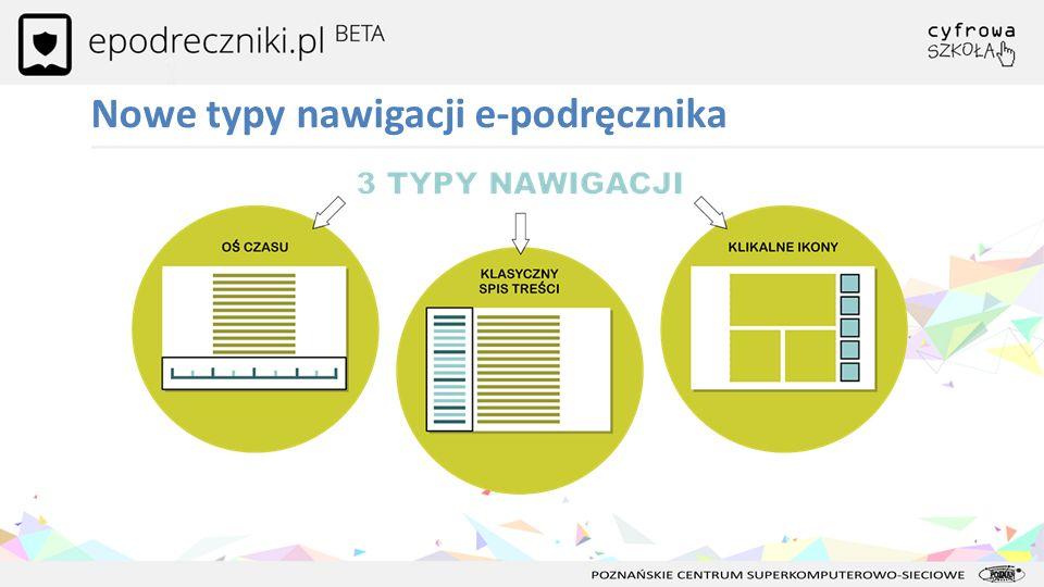 Nowe typy nawigacji e-podręcznika