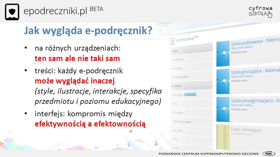 epodreczniki.pl od strony technologii Dziękuję za uwagę.