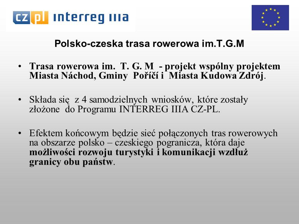 Polsko-czeska trasa rowerowa im.T.G.M Trasa rowerowa im.