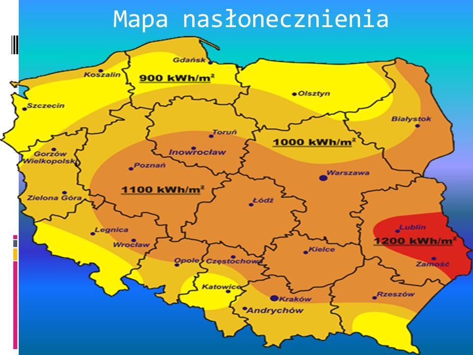 Mapa nasłonecznienia