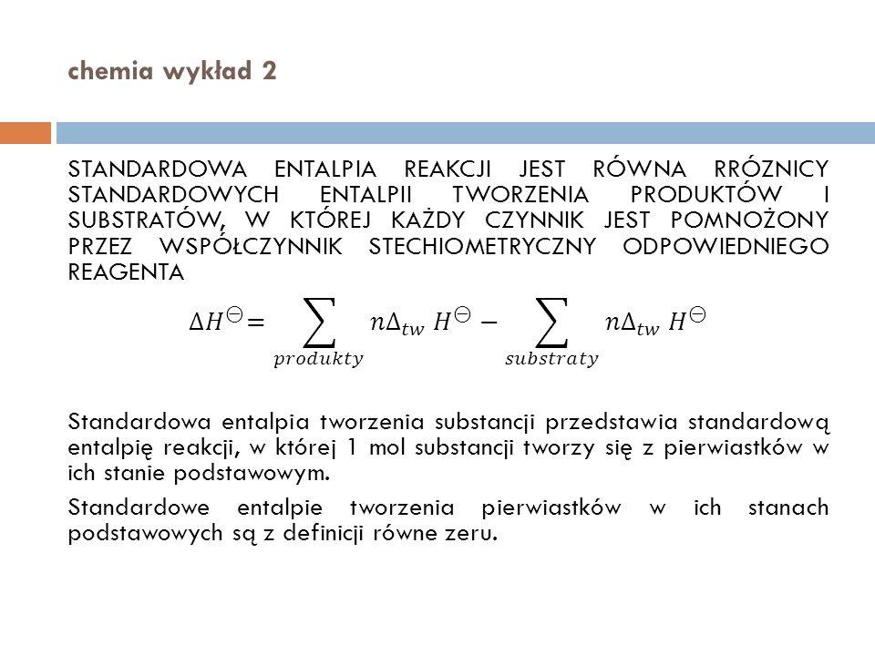 chemia wykład 2