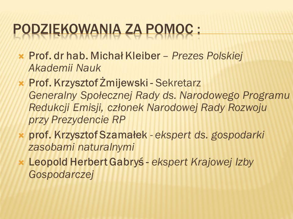 Prof. dr hab. Michał Kleiber – Prezes Polskiej Akademii Nauk Prof.