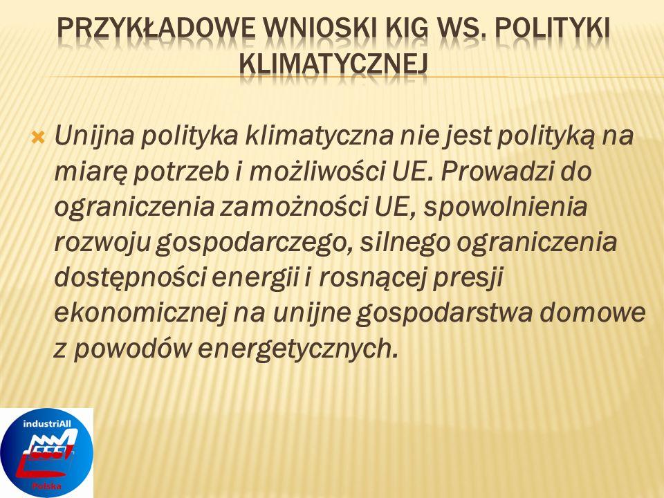 Polska zrealizowała postanowienia Konferencji klimatycznej z Kioto w 130%.