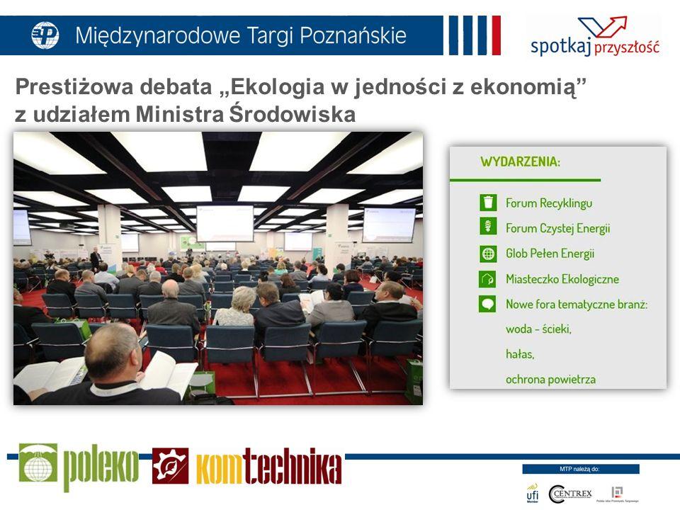 Prestiżowa debata Ekologia w jedności z ekonomią z udziałem Ministra Środowiska