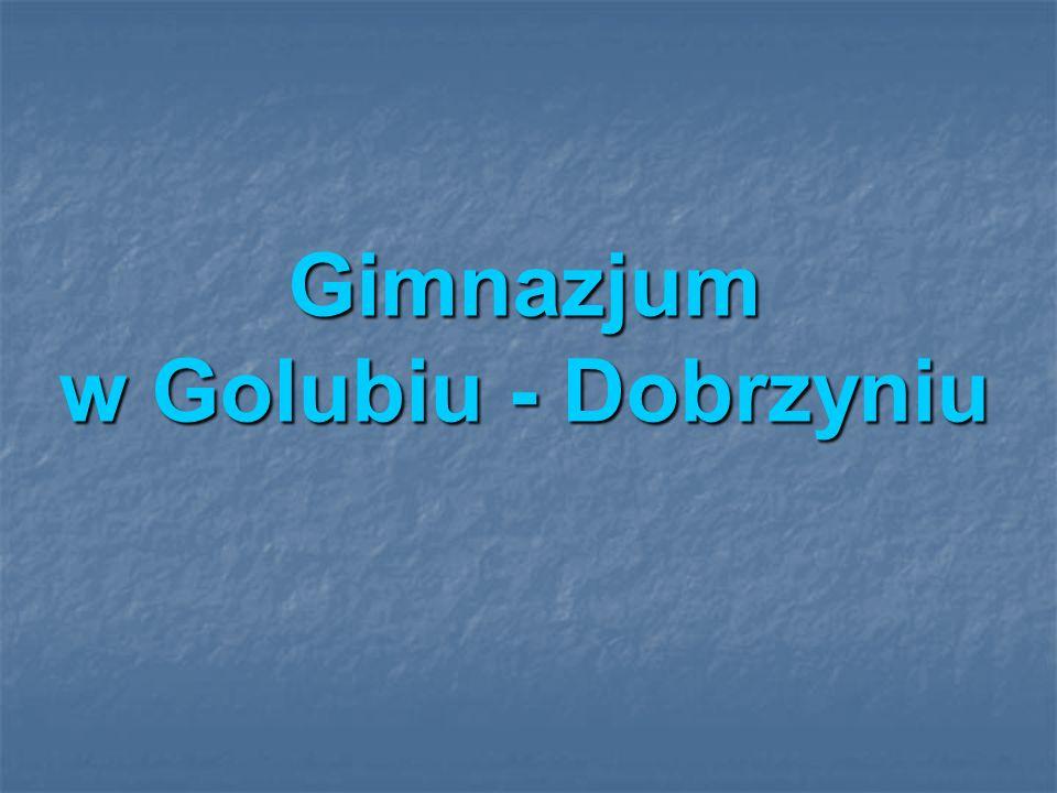 Gimnazjum w Golubiu - Dobrzyniu
