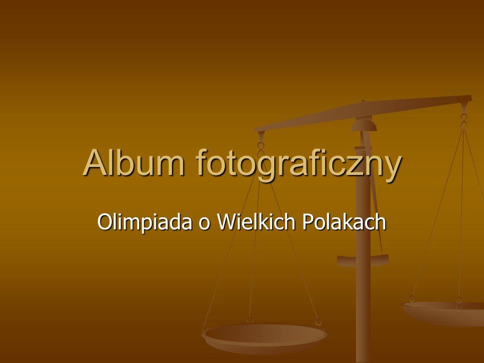 Album fotograficzny Olimpiada o Wielkich Polakach
