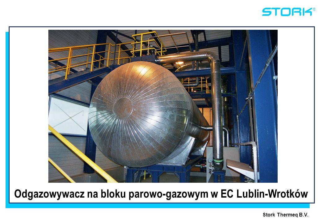 Stork Thermeq B.V. ® Odgazowywacz na bloku parowo-gazowym w EC Lublin-Wrotków