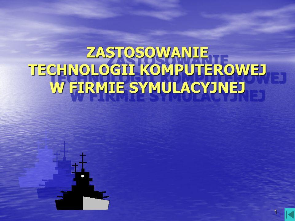 2 CELE PRACY: przedstawienie możliwości wykorzystania przedstawienie możliwości wykorzystania technologii komputerowej w firmie symulacyjnej technologii komputerowej w firmie symulacyjnej wskazanie na narzędzia wspomagające wskazanie na narzędzia wspomagające podnoszenie jakości pracy z uczniem podnoszenie jakości pracy z uczniem