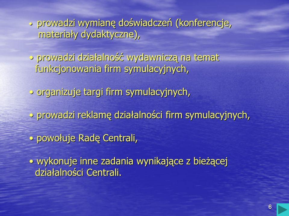 17 PRZEDMIOTOWY SYSTEM OCENIANIA W FIRMIE SYMULACYJNEJ ZSM EURO-HOL wymagania edukacyjne na poszczególne oceny wymagania edukacyjne na poszczególne oceny kontrakt kontrakt regulamin pracowni ekonomiczno- informatycznej oraz firmy symulacyjnej regulamin pracowni ekonomiczno- informatycznej oraz firmy symulacyjnej ZSM EURO-HOL ZSM EURO-HOL