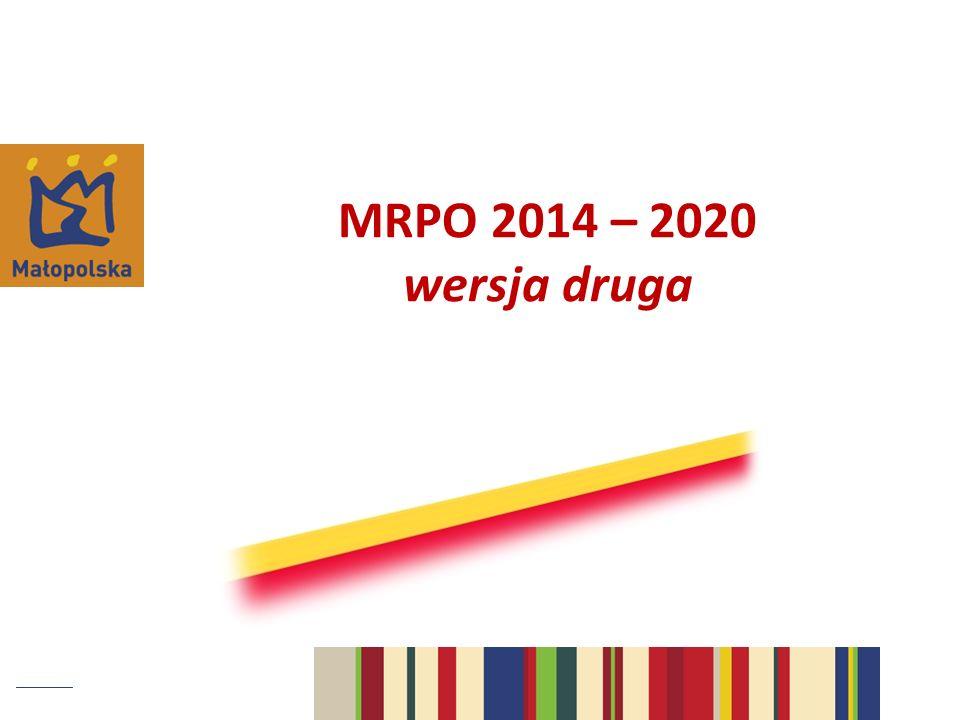 MRPO 2014 – 2020 wersja druga