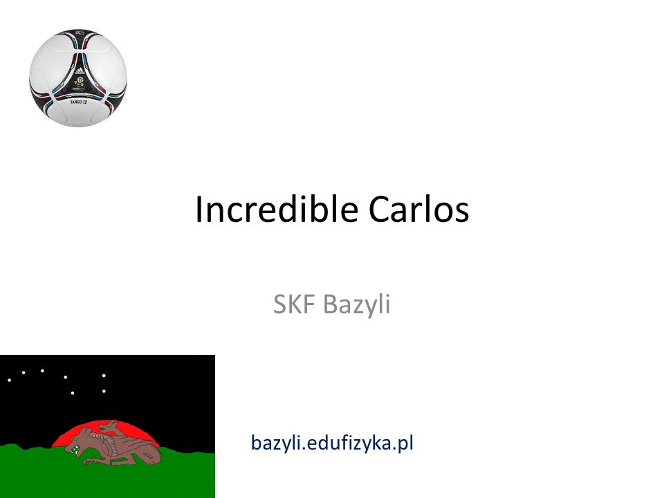 Incredible Carlos SKF Bazyli bazyli.edufizyka.pl