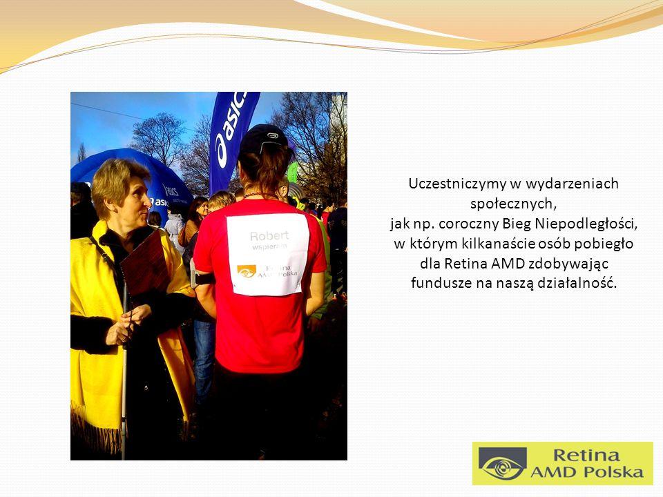 Uczestniczymy w wydarzeniach społecznych, jak np.