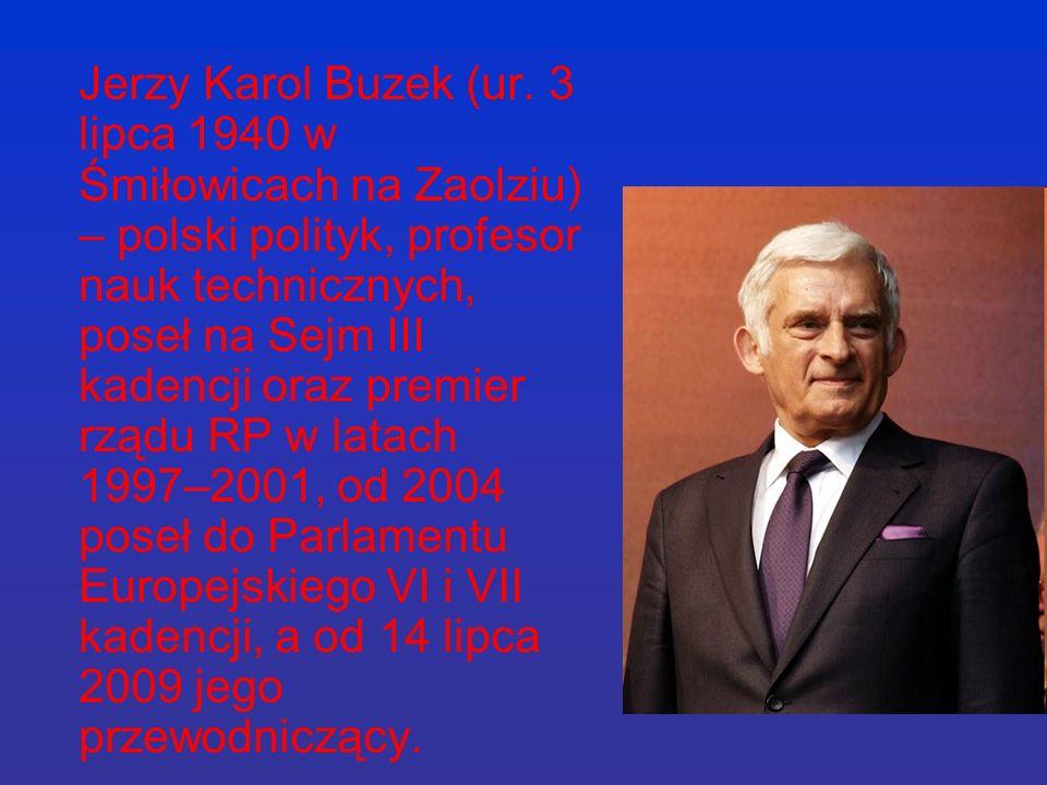 Jerzy Karol Buzek (ur.