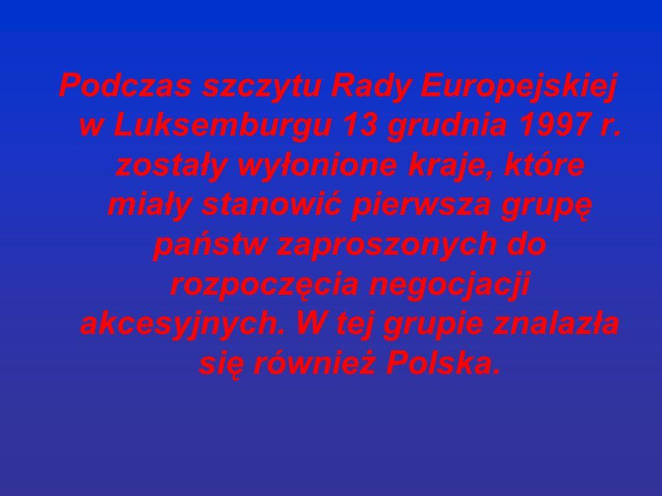 Warto podkreślić, że wszystkie rządy RP, niezależnie od swojej orientacji politycznej, dążyły do realizacji priorytetów polskiej polityki zagranicznej, wśród których szczególne miejsce zajmowała kwestia negocjacji w sprawie członkostwa w Unii Europejskiej.