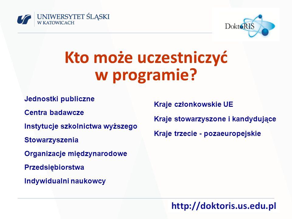Kto może uczestniczyć w programie.
