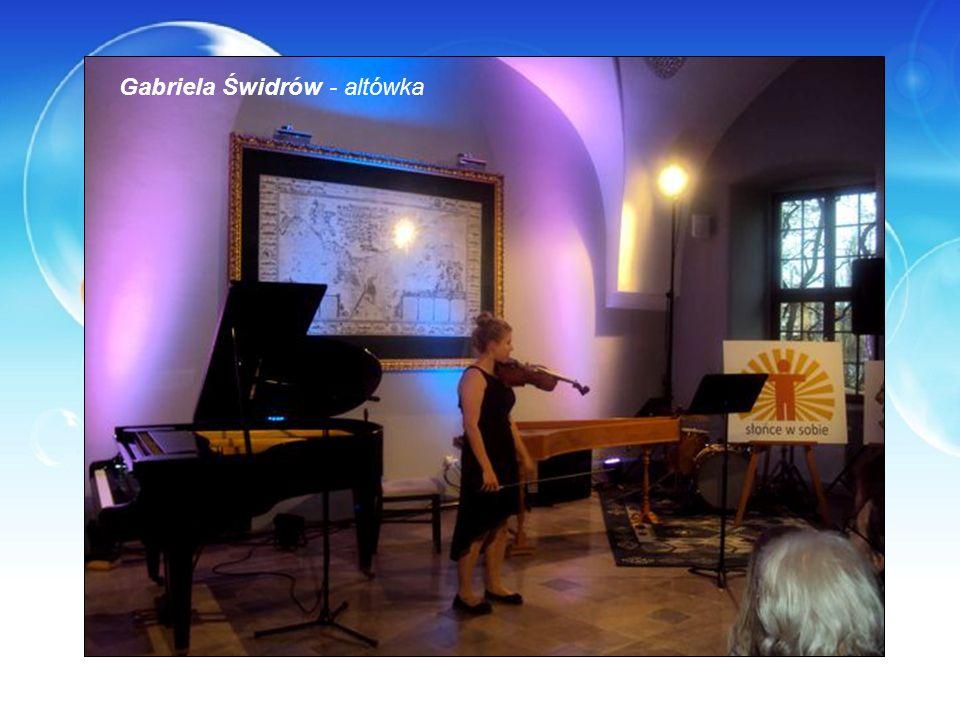 Gabriela Świdrów - altówka