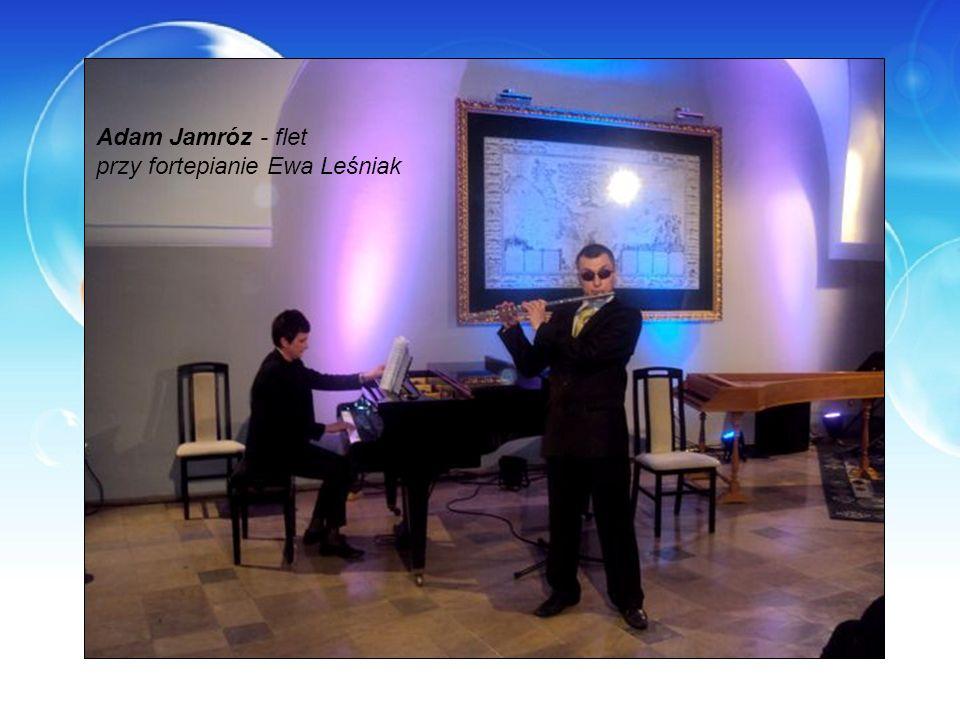 Adam Jamróz - flet przy fortepianie Ewa Leśniak