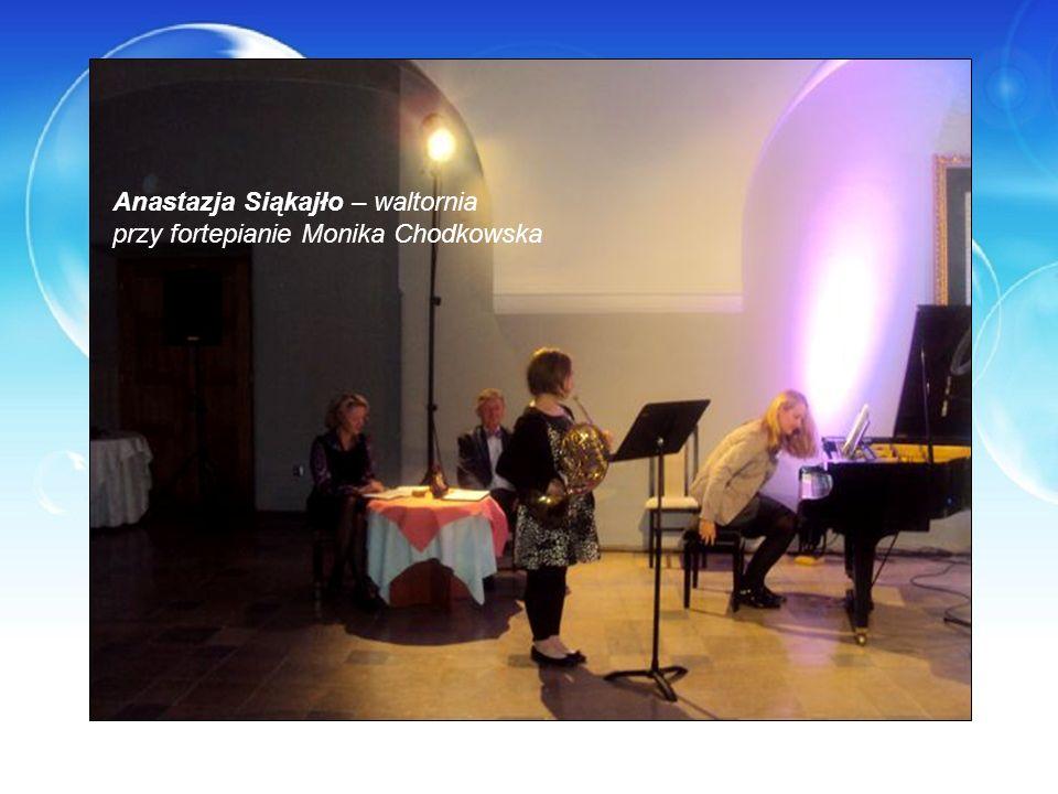 Anastazja Siąkajło – waltornia przy fortepianie Monika Chodkowska