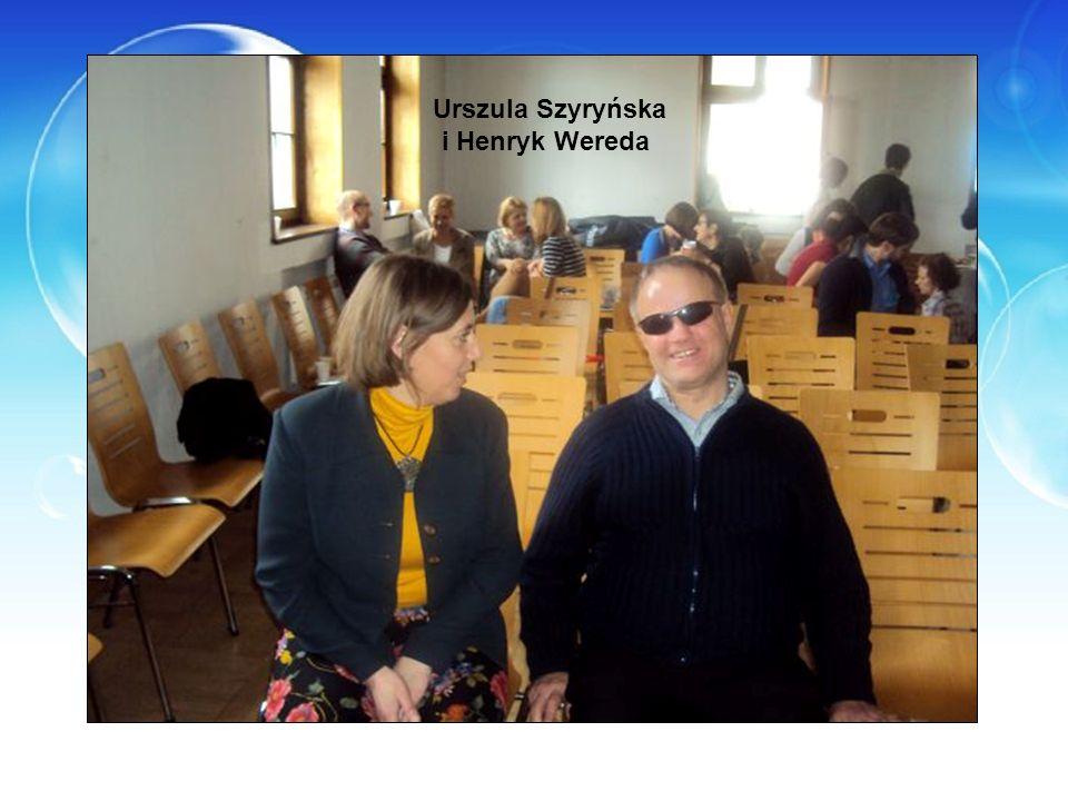 Urszula Szyryńska i Henryk Wereda