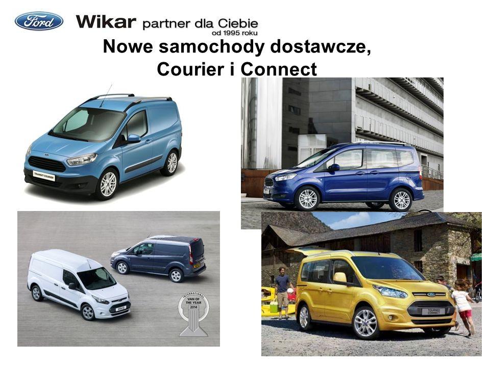 Nowe samochody dostawcze, Courier i Connect