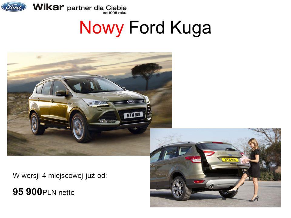 Nowy Ford Kuga W wersji 4 miejscowej już od: 95 900 PLN netto