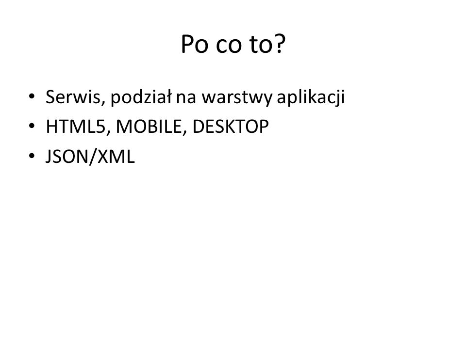 Metody c.d. – list.shift() – list.reverse() – list.sort() – list.remove(item) – list.removeAll()