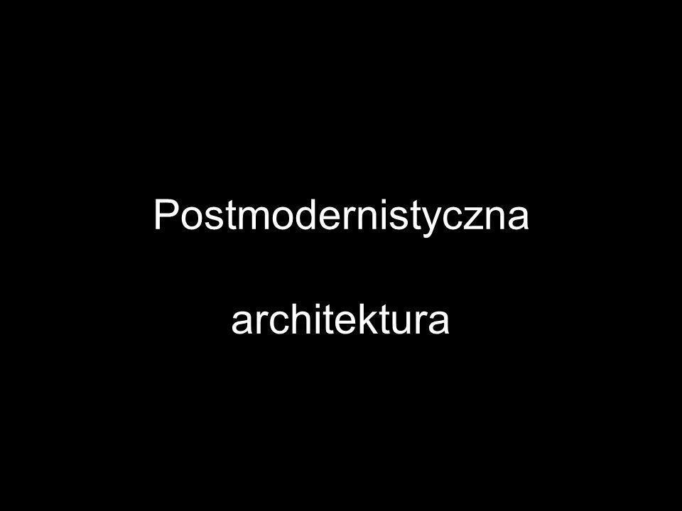 Termin postmodernizm (czyli po-modernizm) ukuł m.in.