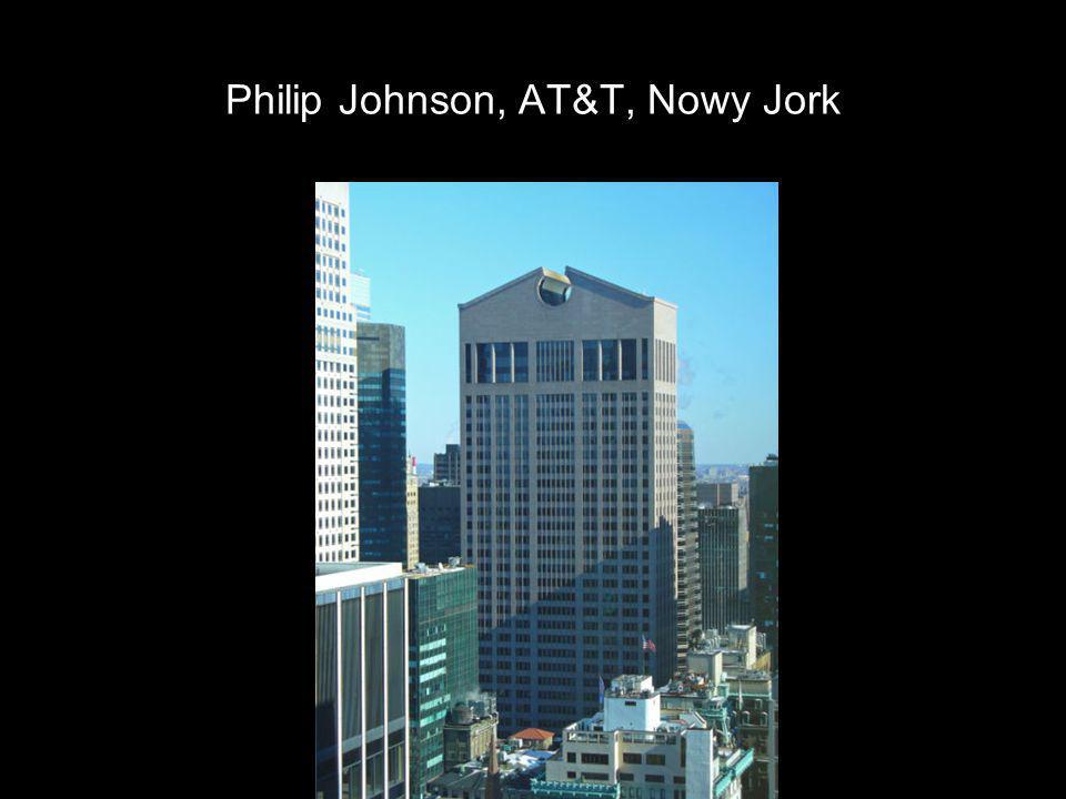 Philip Johnson, AT&T, Nowy Jork