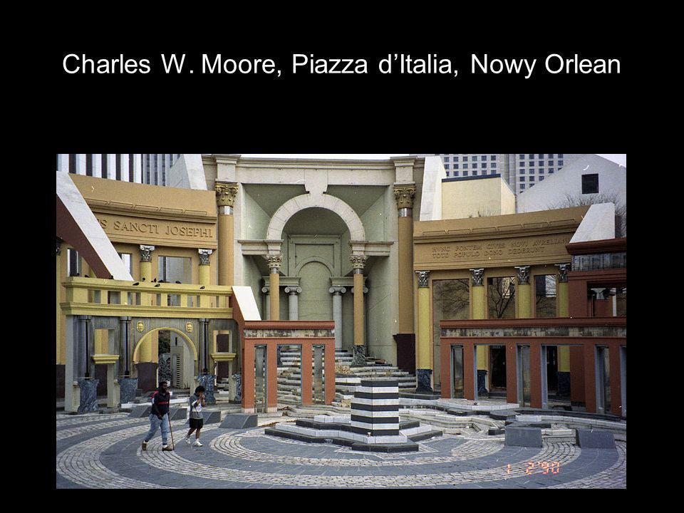 Charles W. Moore, Piazza dItalia, Nowy Orlean