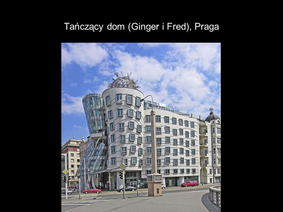 Tańczący dom (Ginger i Fred), Praga