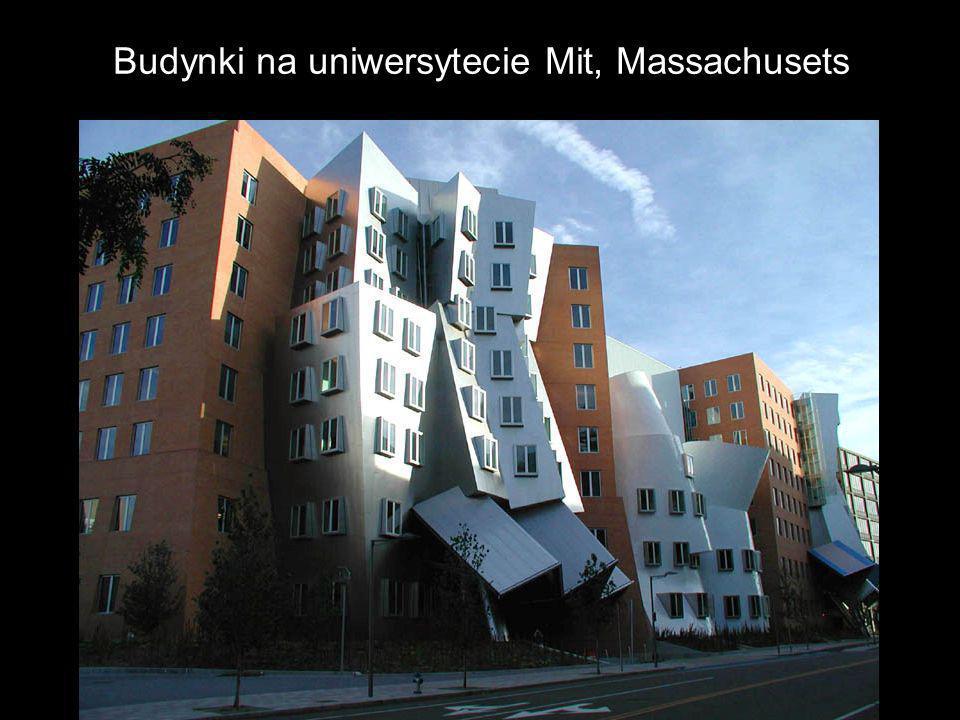 Budynki na uniwersytecie Mit, Massachusets