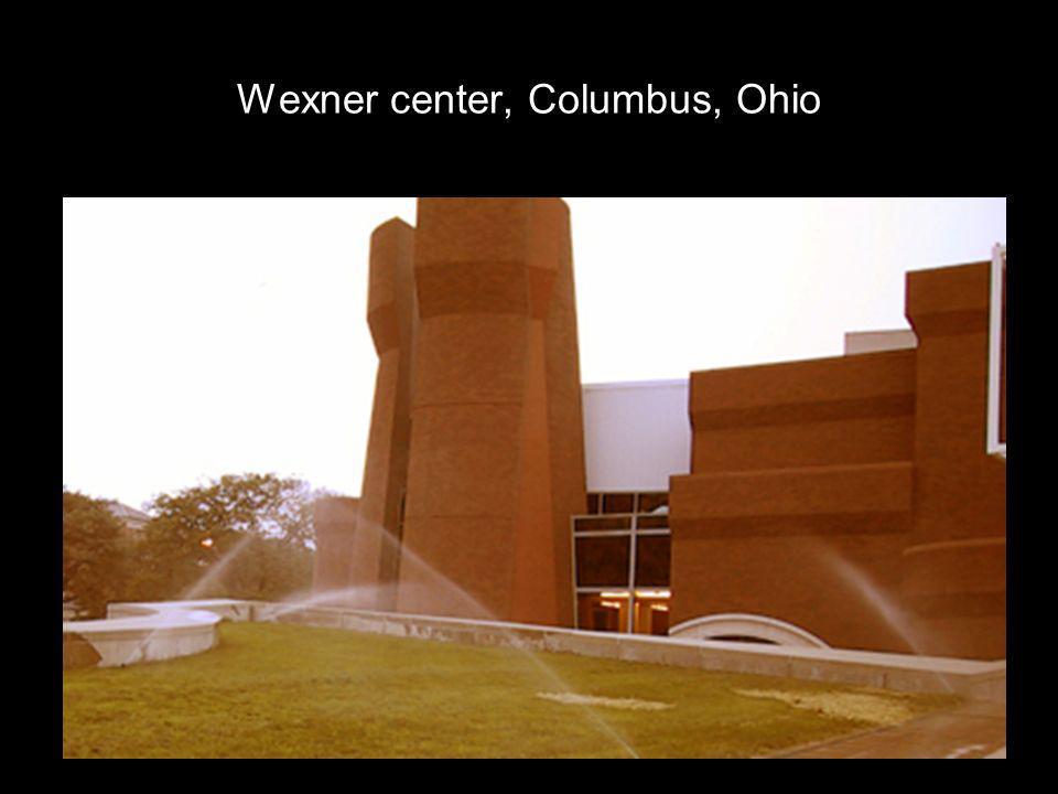 Wexner center, Columbus, Ohio