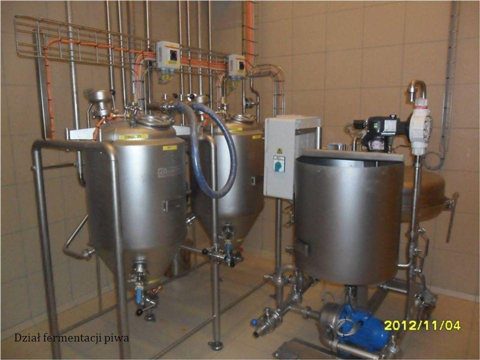 Dział fermentacji piwa