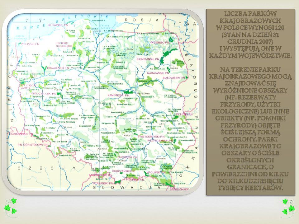 Parki krajobrazowe stanowią obok parków narodowych, jeden z podstawowych elementów systemu obszarów chronionych w Polsce. Tworzą system dość równomier